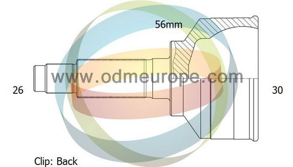 ODM-MULTIPARTS 12-050484